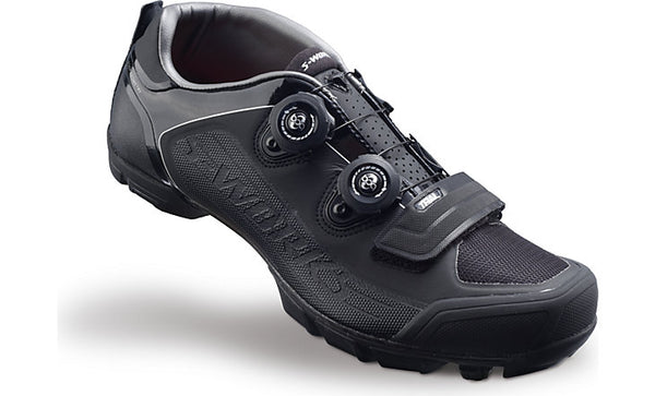 S-WORKS TRAIL MTB SHOE BLK 46/12.25