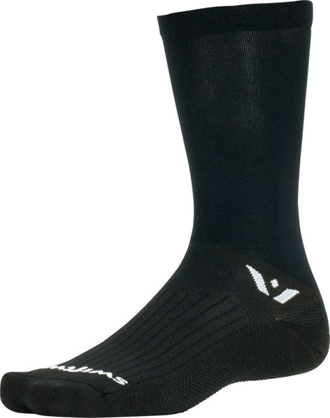 Swiftwick Aspire Seven Sock: Black MD