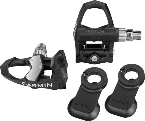 Garmin Vector 2 Power Meter Pedal Pair: Standard, Fits Cranks Up To 44mm Wide x 12-15mm Thick