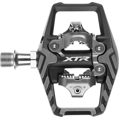 SHIMANO PEDAL, PD-M9120, XTR, SPD PEDAL, W/O REFLECTOR, W/CLEAT(SM-SH51), IND.PACK