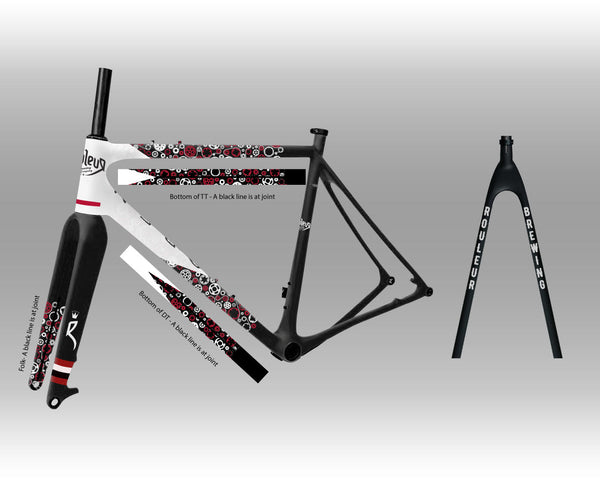 Custom Rouleur Brewing OPEN U.P. Frameset