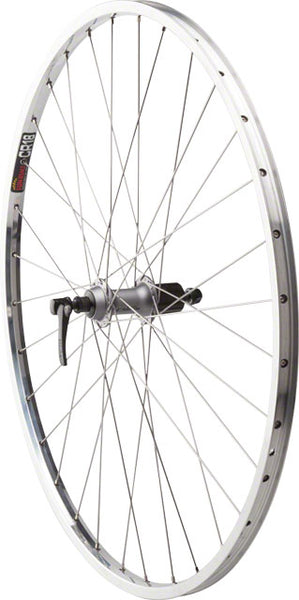 "Quality Wheels Value Series 2 Rear Wheel 27"" Shimano 2400 Silver / CR18 Polished"