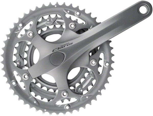 Shimano Claris 2403 8-Speed 175mm 30/39/50t Octalink Crankset Bottom Bracket Not Included