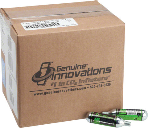 16g Threaded Cartridges: Box of 100