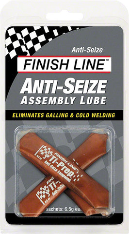Finish Line Anti-Seize Assembly Lube, 3 x 6.5cc