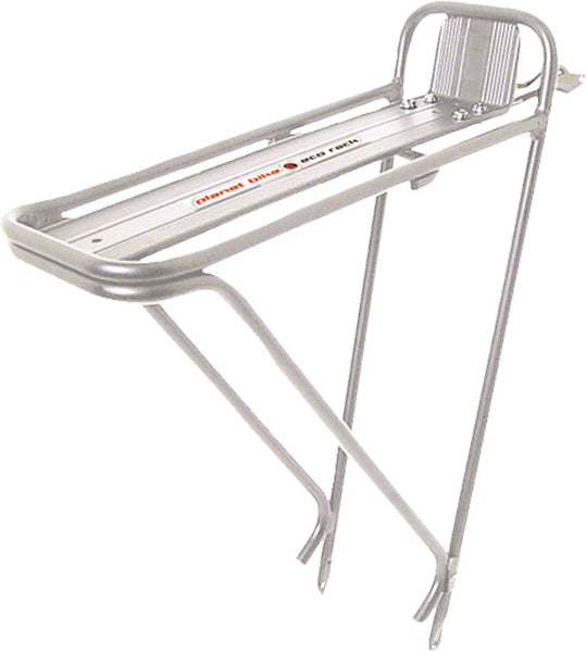 P-BIKE ECO RACK,TUB ALY,26/700C,Silver Rack