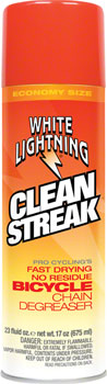 White Lightning Clean Streak Degreaser, 23oz Aerosol