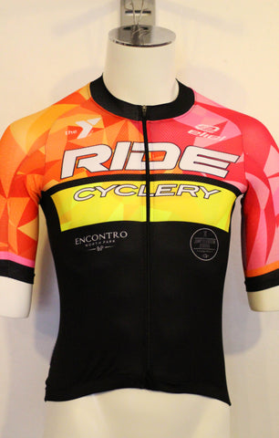 2016 RIDE Club Geo Kit - Mens Aero Race Jersey