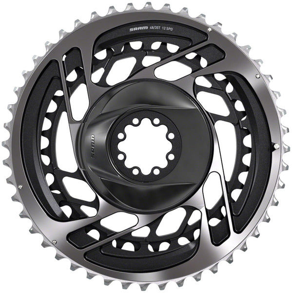 SRAM Red AXS Direct-Mount 46/33t 2x12 speed Chainring Set, Polar Gray
