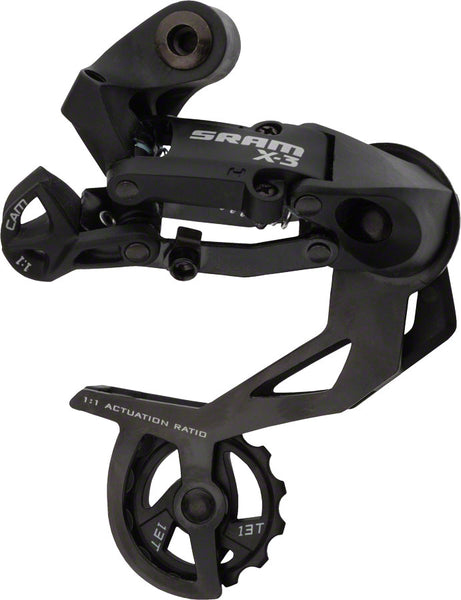 SRAM X.3 7/8/9-Speed Rear Long Cage Derailleur Black