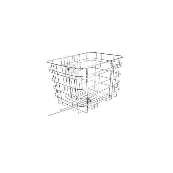 Electra Cruiser Steel Basket Fixed