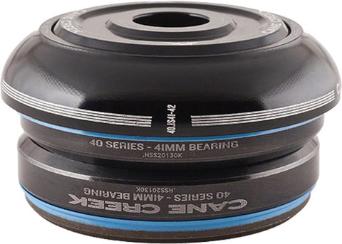 "Cane Creek 40 Series 1-1/8"" Short Integrated 41mm Black IS41/28.6