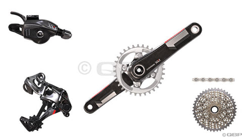 2014 XX1 Trigger Shift BB30 175mm 168Q Kit-In-A-Box  No Chain Ring, No Brakes, No Bottom Bracket