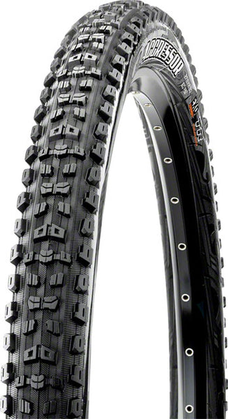 Maxxis Agressor 27.5 x 2.3 Tire, Folding, 60tpi, Dual Compound, EXO, Tubeless Ready