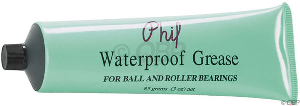 Phil Wood Waterproof Grease Tube, 3oz