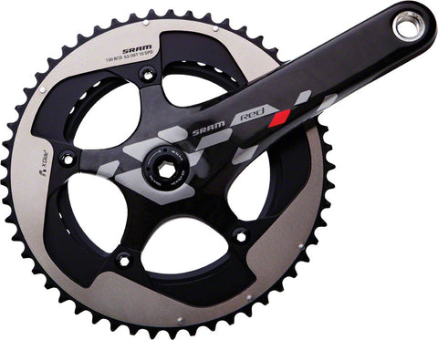 2012 SRAM Red Exogram GXP 172.5mm 39-53 Crankset; Bottom Bracket Not Included