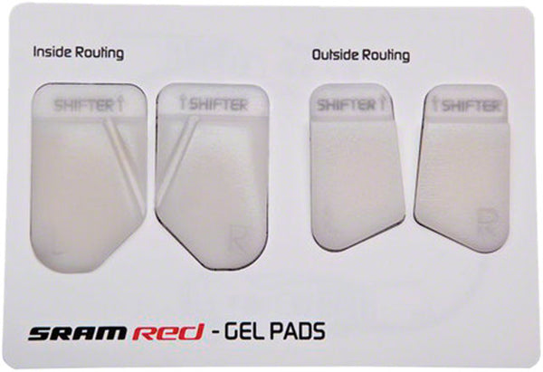 SRAM Red Gel Handlebar Lever  Transition Pads