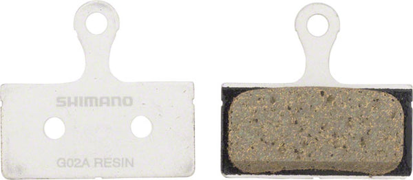 Shimano G02A Resin Disc Brake Pad and Spring (Replaces G01A)
