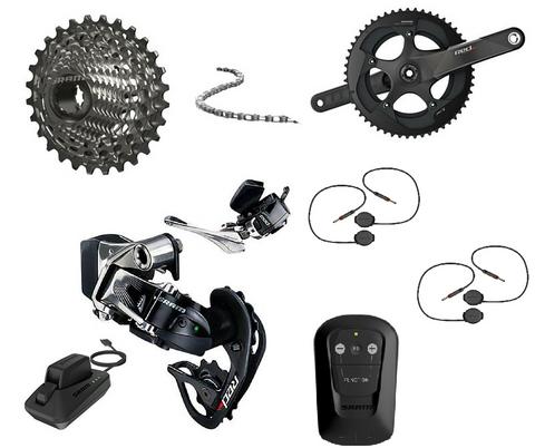 SRAM eTap Time Trial / Triathlon Build Kit