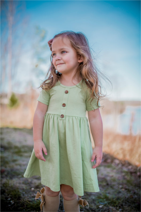 Kiwi Dress - Madison Grace Clothing