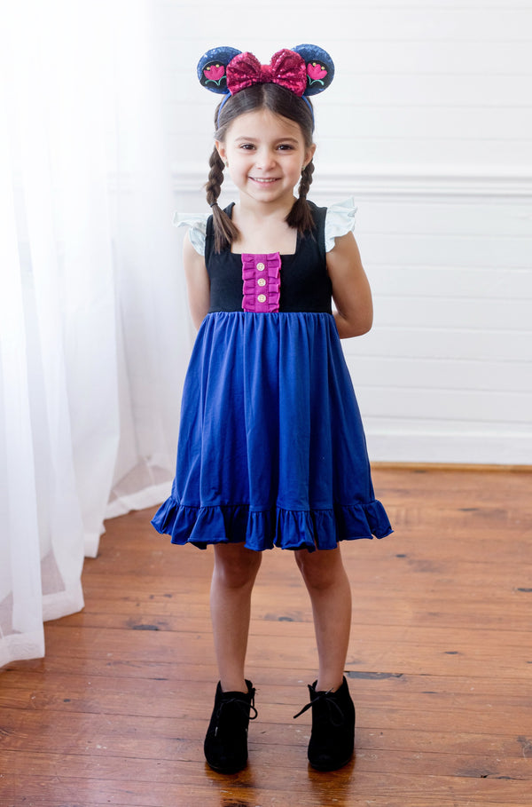 Anna Inspired Callie Dress - Madison Grace Clothing