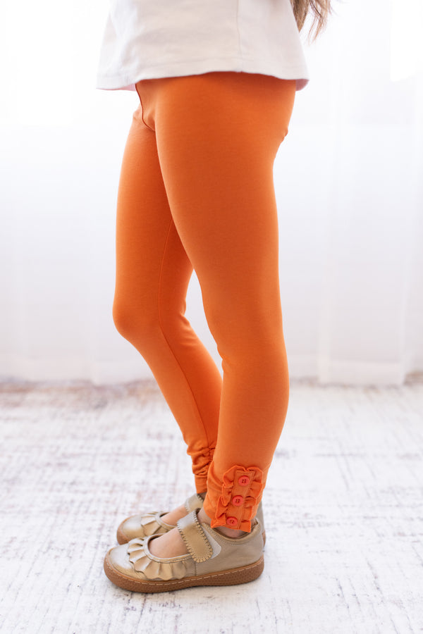 Brooke Leggings - Pumpkin