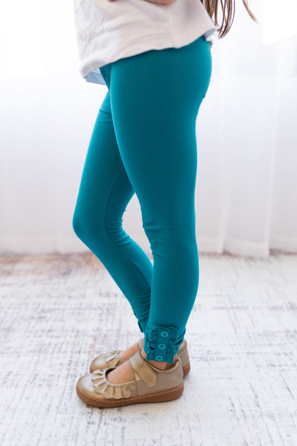 Brooke Leggings - Teal