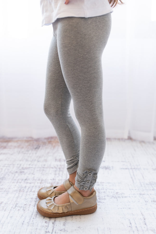 Brooke Leggings - Heather Gray