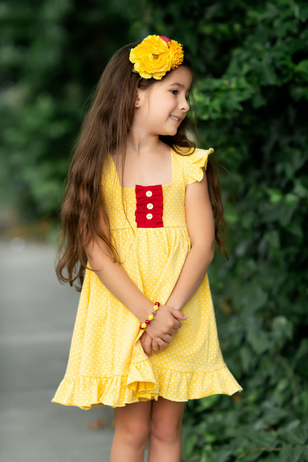 Belle Inspired Callie Dress - Madison Grace Clothing
