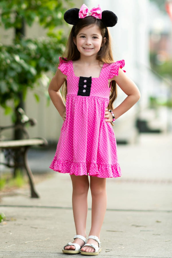 Minnie Inspired Callie Dress - Madison Grace Clothing
