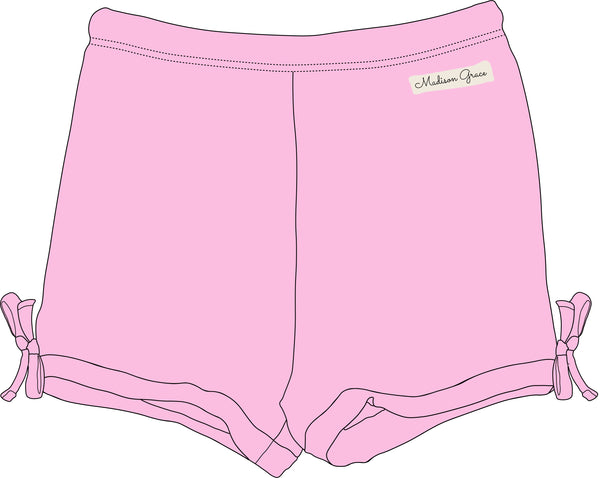 Simple Shorties - Light Pink - Madison Grace Clothing