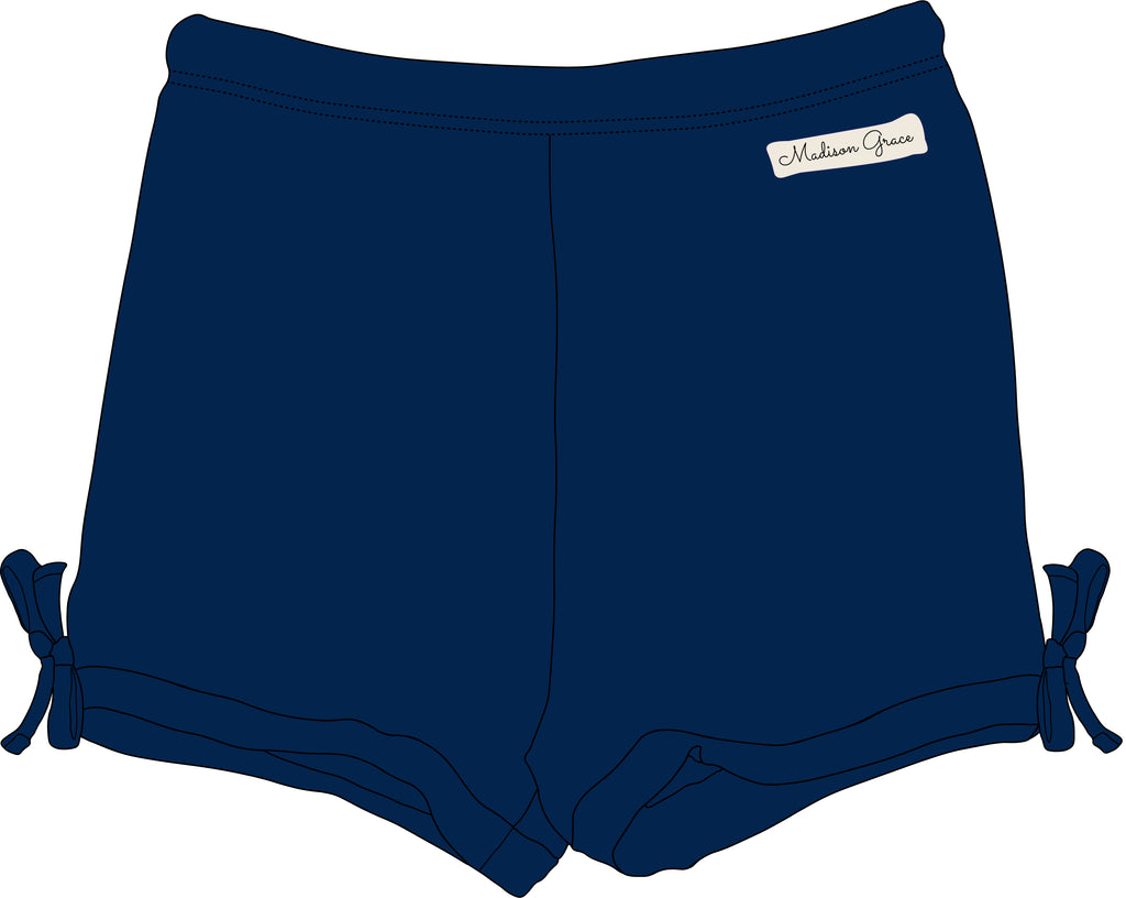 Simple Shorties - Navy - Madison Grace Clothing