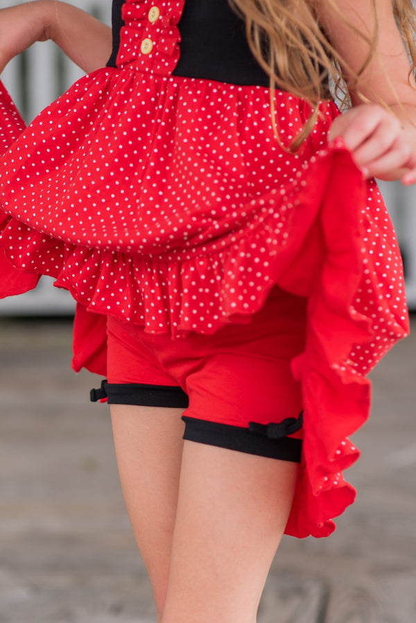 Mickey Inspired Simple Shorties - Madison Grace Clothing