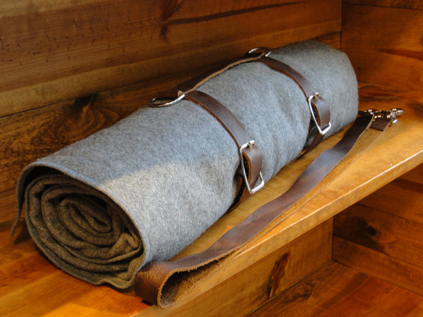 Stone Oiled Blanket Carrier (Does not include wool blanket)