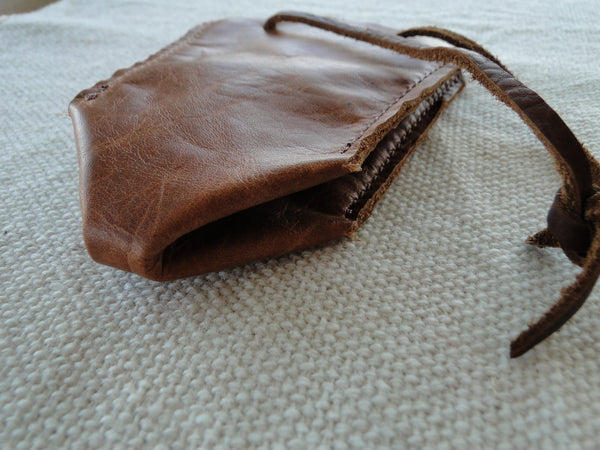 Leather Pouch/bag
