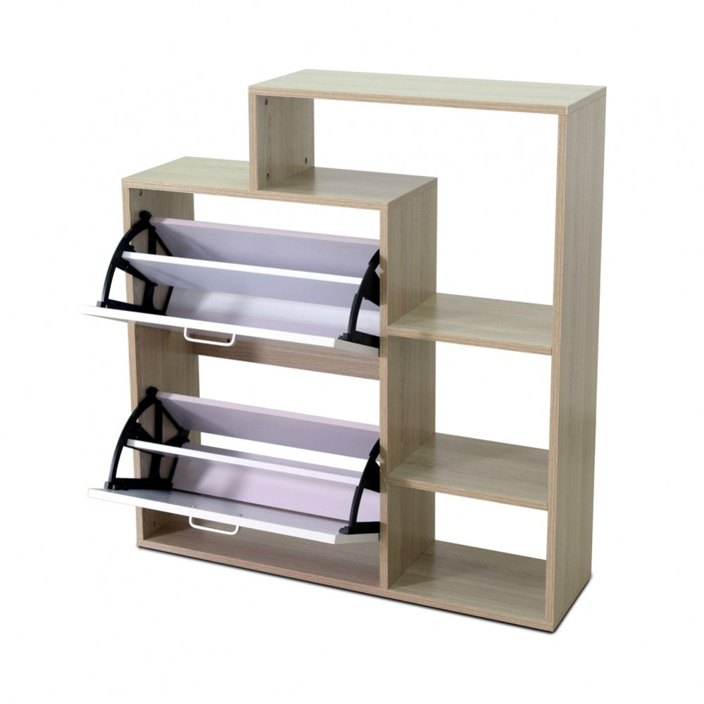 sc 1 st  OnDemand - Shopping & 2 Door Shoe Cabinet With Storage Shelf