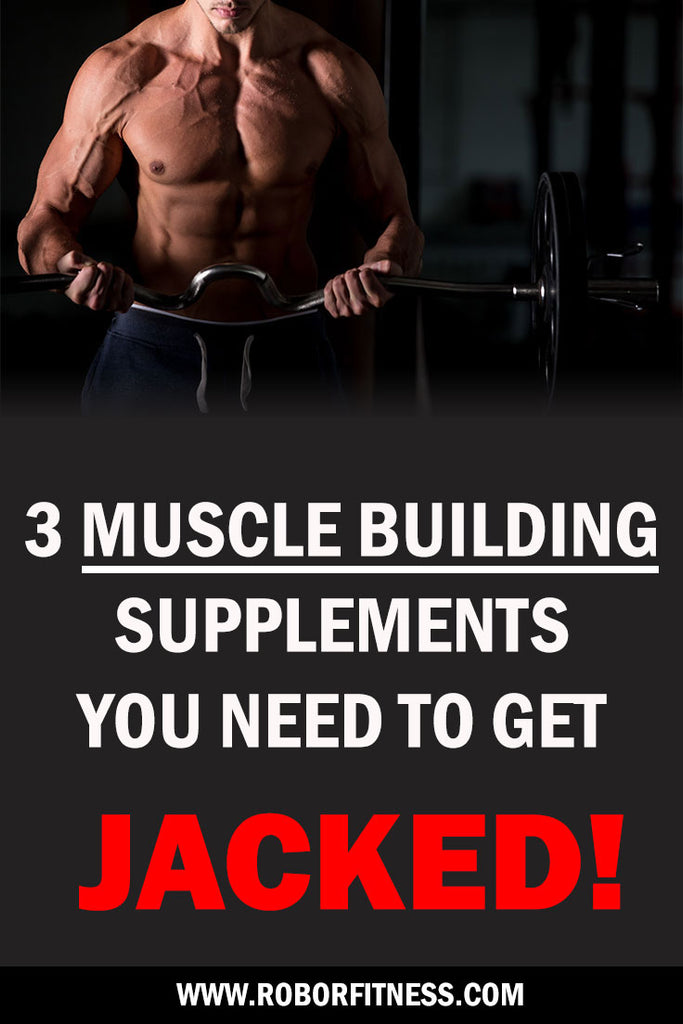 Supplements needed for muscle mass by Robor Fitness
