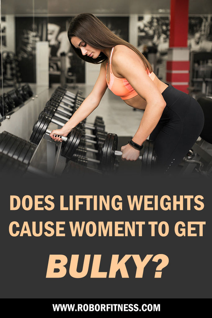 can women get muscly from lifting weights?