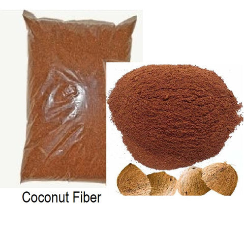 Growing Medium: Grounded Coconut Fiber 1.75 lt/Fibra de coco molida 1.75 lt
