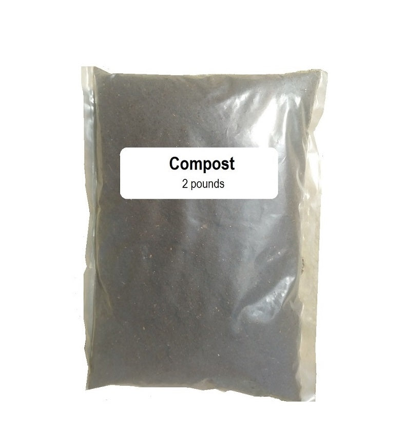 Growing Medium: Compost 2 lb/Composta 2 lb