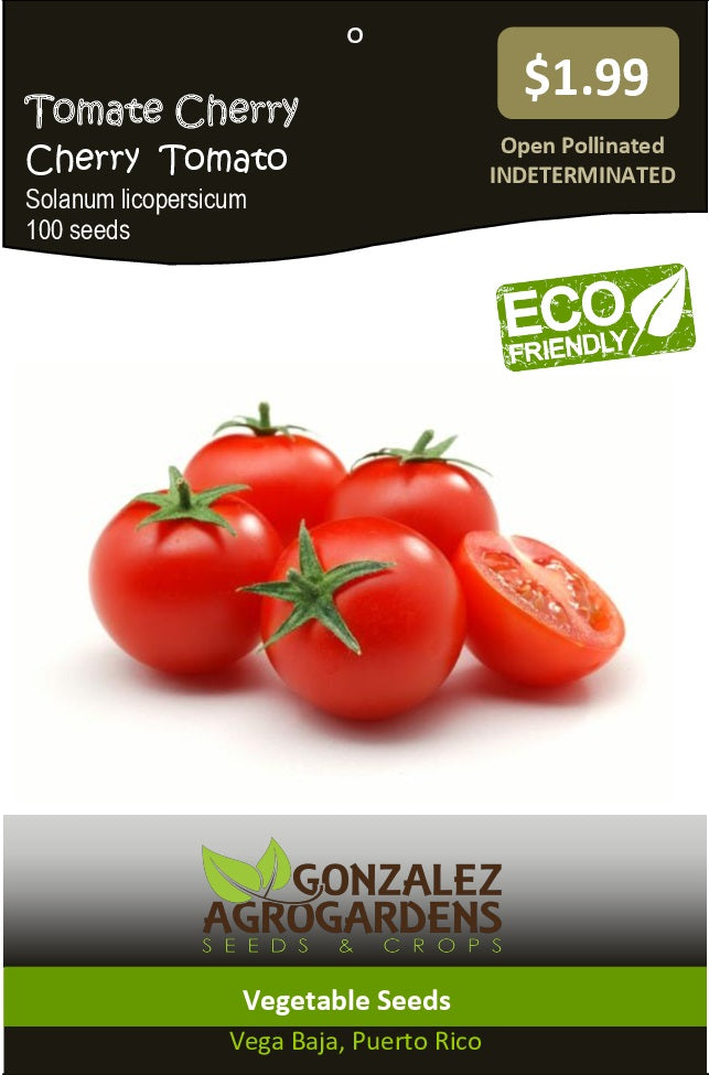 Tomate Cherry - Large Red Cherry Tomato Seeds