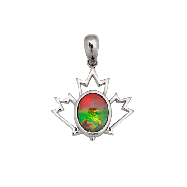 Korite Sterling Silver Canadiana Pendant