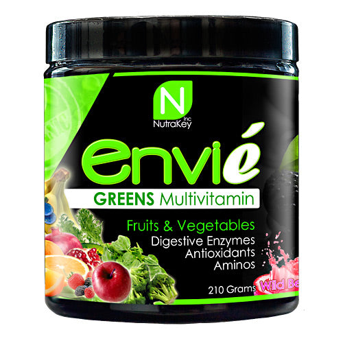 Nutrakey Envie - Wild Berry - 30 Servings - 661799534208