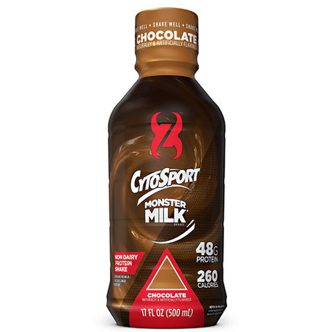 Cytosport Monster Milk RTD - Chocolate - 12 ea - 876063007122