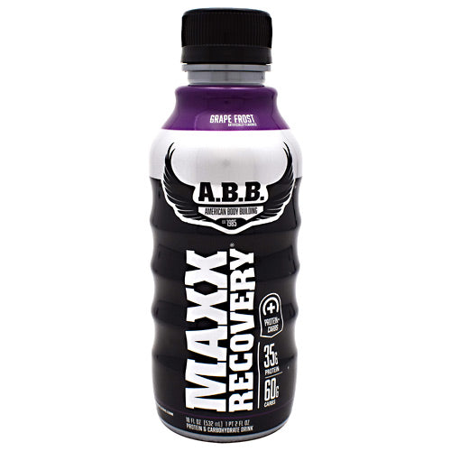 Maxx Recovery Protein- Grape Frost - 12 Bottles | ABB