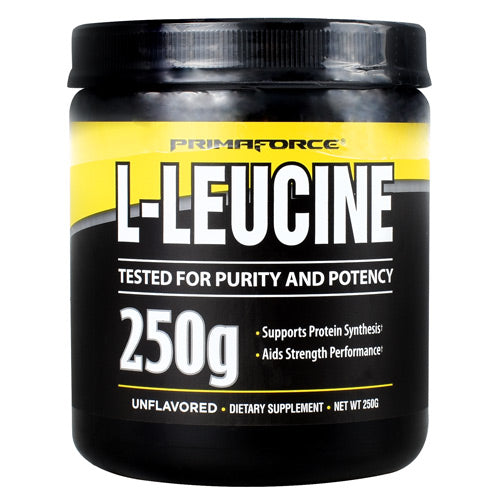 Primaforce L-Leucine - Unflavored - 50 Servings - 811445020276
