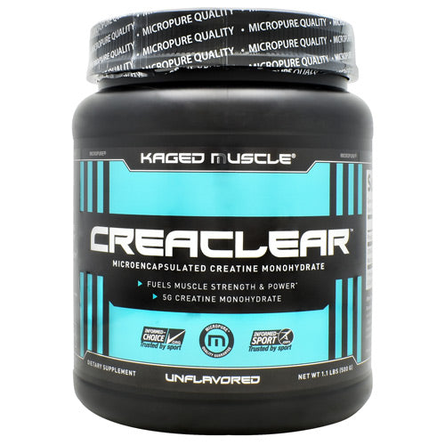 CreaClear By Kaged Muscle - Unflavored - 1.1 lbs