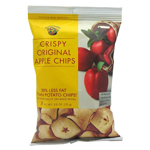 Good Health Natural Foods Apple Chips - Crispy Original - 12 ea - 10755355001055