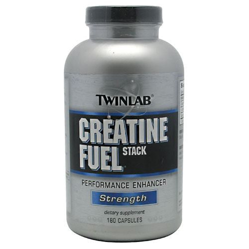Creatine Fuel Stack Performance Enhancer TwinLab - 180 capsules