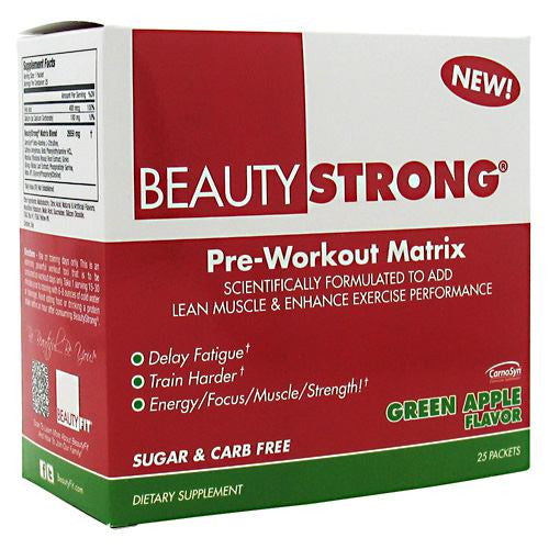 BeautyFit BeautyStrong - Green Apple - 25 Packets - 858695002621